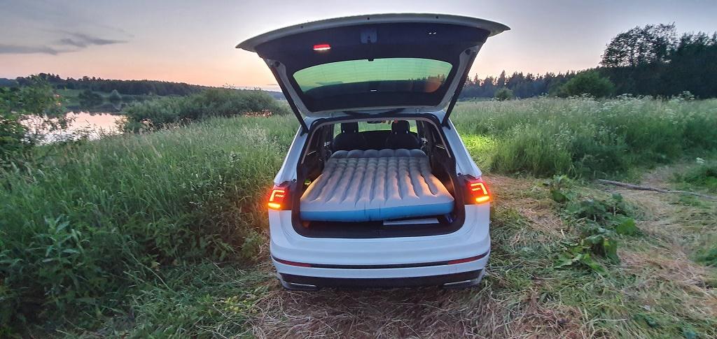 Багажник Фольксваген Тигуан: объем и габариты