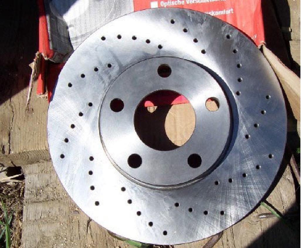 Тормозные диски ФВ Пассат Б5